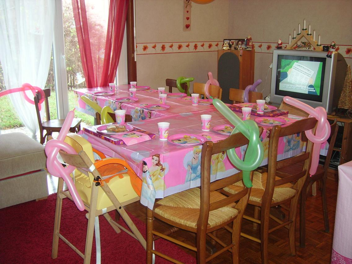 Ma table d 39 anniversaire centerblog - Table d anniversaire ...